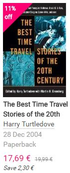 Harry TurtleDove - The Best Time Travel Stories of the 20th Century
