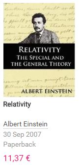 Einstein Relativity