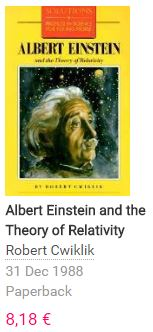 Einteins Relativity Theory