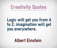 Logic and imagination-einstein